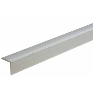 "M-D 61634 2"" X 48"" Mill Aluminum Equal Leg Angle Bar Stock"