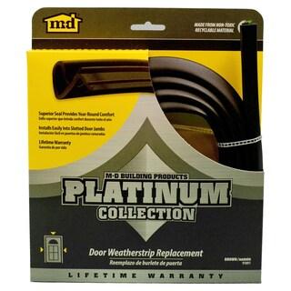 """M-D 91891 84"""" Brown Platinum Collection Replacement Door Weatherstrip"""