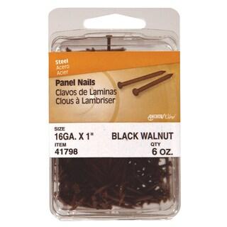 """Philstone 41798 6 Oz 1"""" Walnut Colored Interior Panel Nails"""