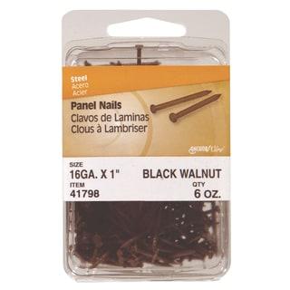 """Philstone 41799 6 Oz 1-5/8"""" Walnut Colored Interior Panel Nails"""