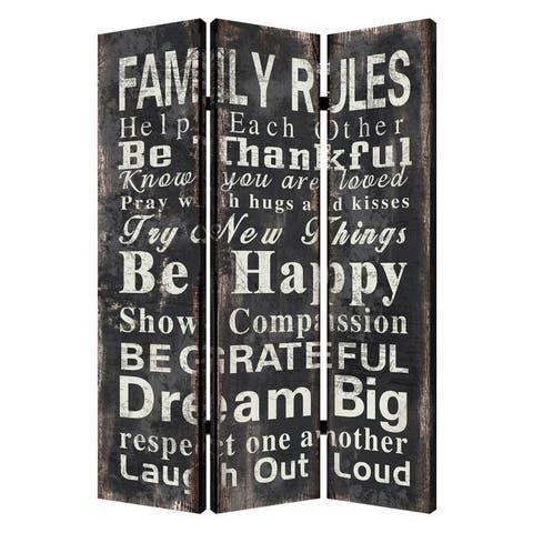 Family Rule Screen