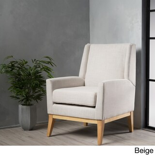Aurla Mid-Century Fabric Accent Chair by Christopher Knight Home (2 options available)