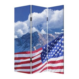 Model American Flag Screen