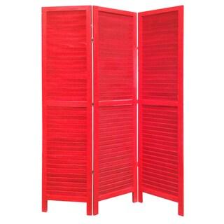Red Shutter Screen