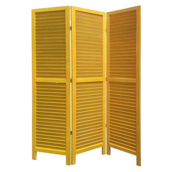 Yellow Shutter Screen