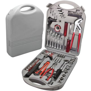 Imperial Home 141-piece Heavy-duty Mixed Portable Toolkit with Carrying Case