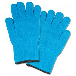 Extra Thick Blue Heat-resistant Oven Glove Mitt Pot Holders (Set of 2) (2 options available)