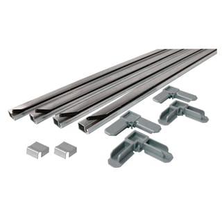 "Prime Line PL 7803 5/16"" X 3/4"", 3' Mill Aluminum Screen Frame Kit"