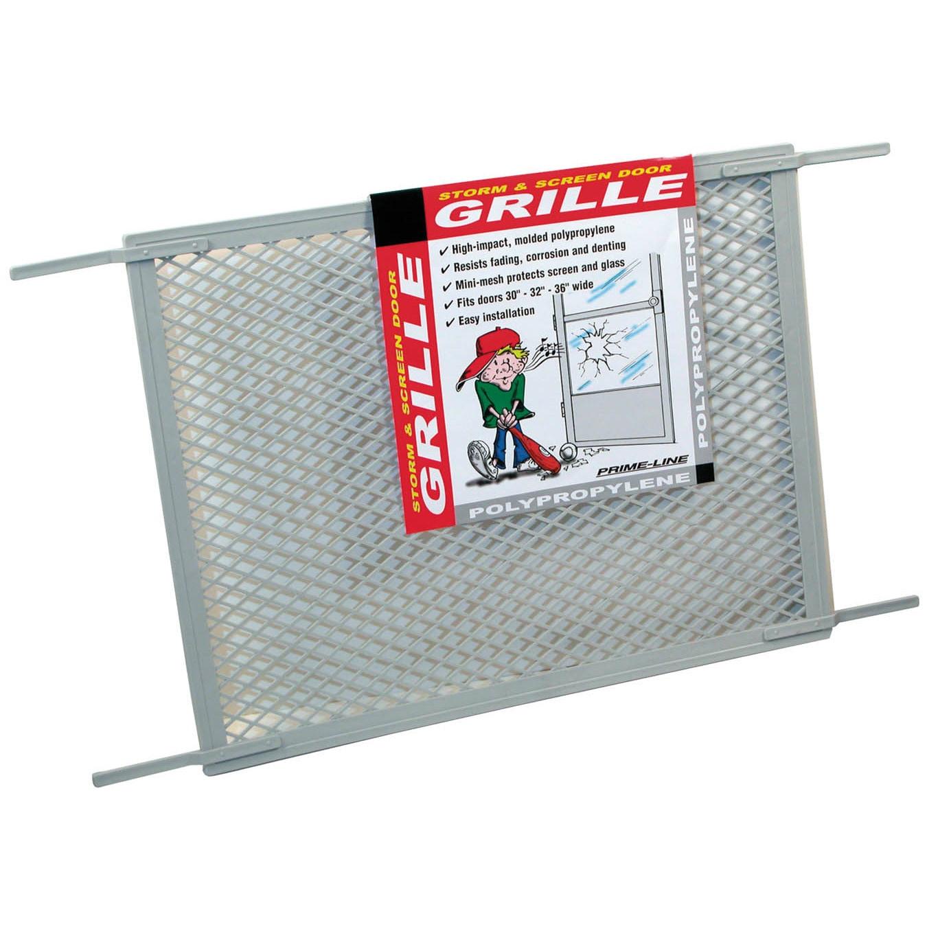 """Prime Line PL15515 34-1/2' X 20"""" Gray Screen Door Grill (..."""