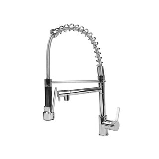 Cosmo Chrome-finished Metal Pull-out Kitchen Faucet