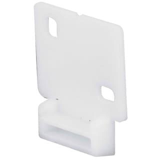 Prime Line R7128 White Drawer Track Guide Kit