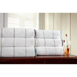 Somette White Collection Ultra Soft 6 piece Turkish Towel Set
