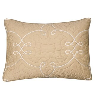 Nostalgia Home Sena Taupe Cotton Sham