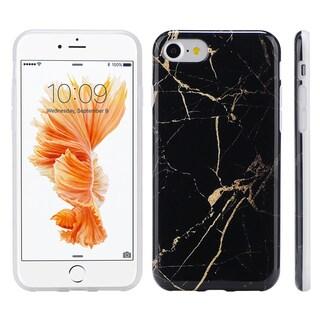 Apple Iphone 7 Black/Grey/Purple Thermoplastic Polyurethane Case