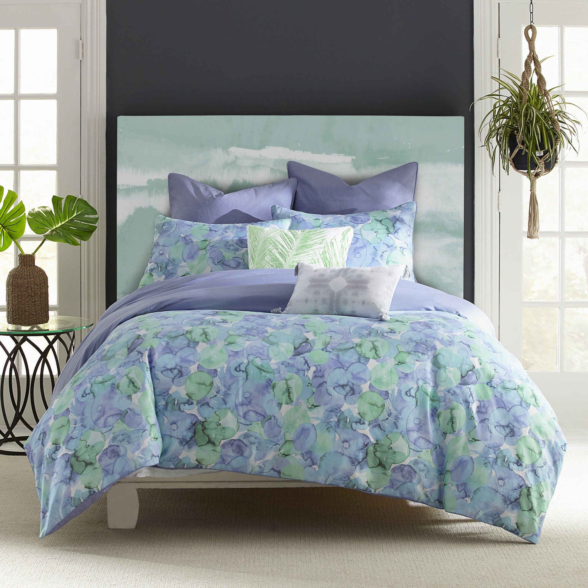 covina cotton comforter overstock product essentials bed sheet bath com complete madison set aqua and park bedding