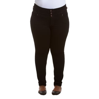Paris Blues Women's Plus Size Flare-leg Jeans - Free Shipping On ...