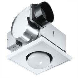 Broan 162 One-Bulb Heater & Fan (Fan & Heater Light)