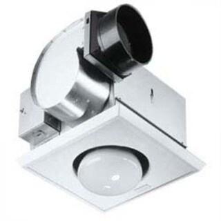 Broan 162 One-Bulb Heater & Fan