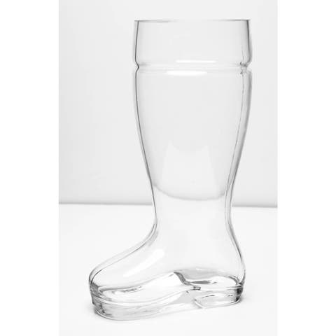 Imperial Home Oktoberfest Style 2-liter Glass Beer Boot