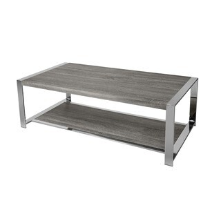LYKE Home Weathered Taupe Coffee Table