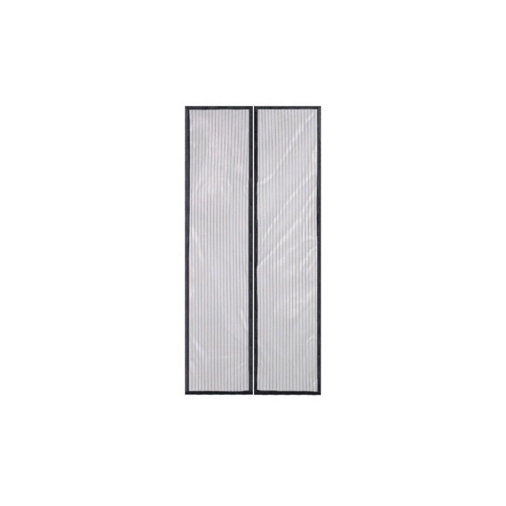 Imperial Home Black Mesh Magnetic Hands-free Screen Door ...