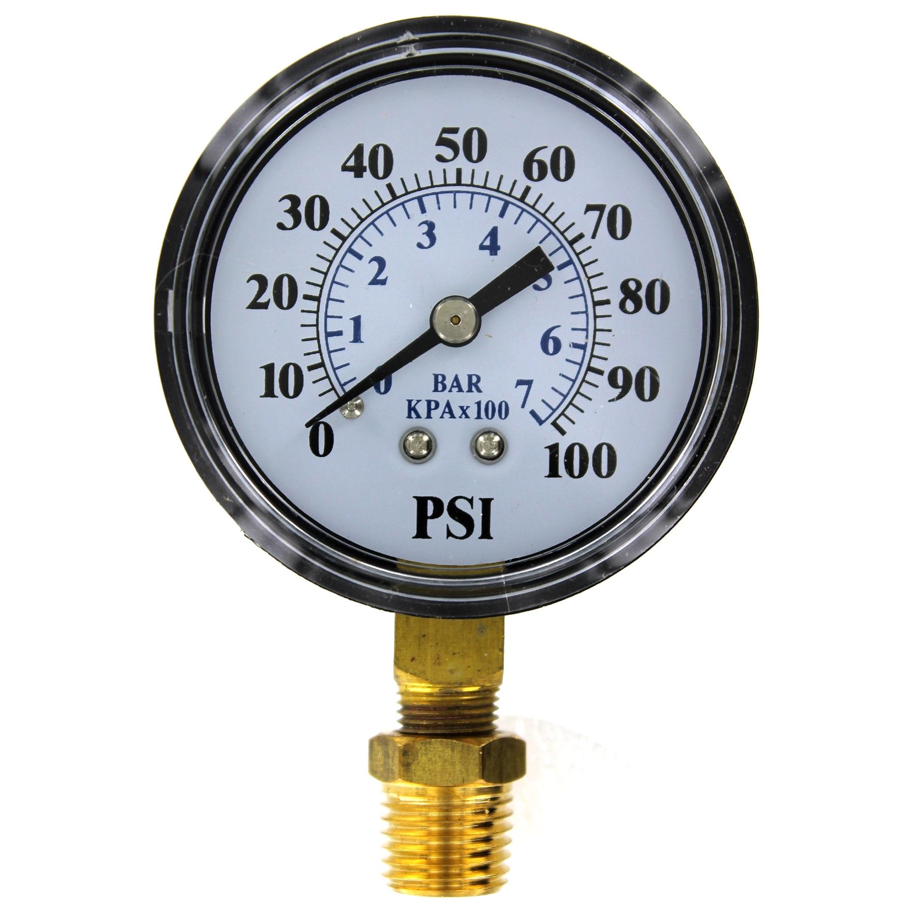 Pentair Parts 2 O TC2104-P2 Well Pump Pressure Gauge (Gau...