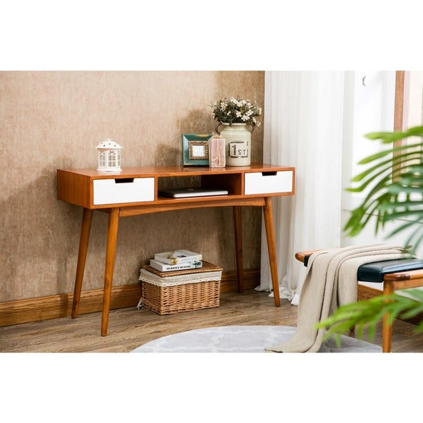 Porthos Home Jillian Mid Century Console Table Free