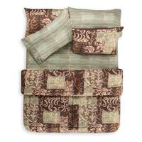 Barcelona 7 Piece Quilt Set and Coordinating Sheet Set
