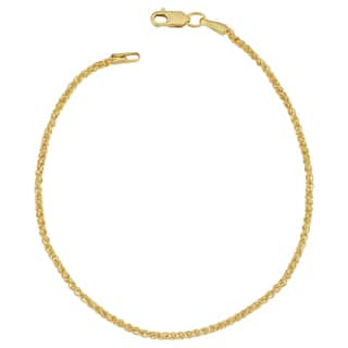 Fremada 14k Yellow Gold Filled 1.5-mm Round Wheat Chain Bracelet (7.5 or 8.5 inches)|https://ak1.ostkcdn.com/images/products/12861513/P19623600.jpg?impolicy=medium
