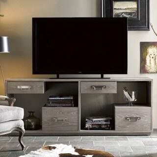 Curated Danbury Greystone Wood TV Stand