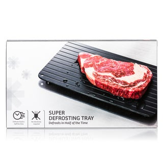 Imperial Home Neo Rapid Thawing Super Defrosting Meat/Frozen Food Tray (Option: Metallic)