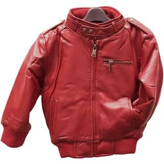 Kids' Red Leather Moto Bomber|https://ak1.ostkcdn.com/images/products/12861557/P19623655.jpg?impolicy=medium