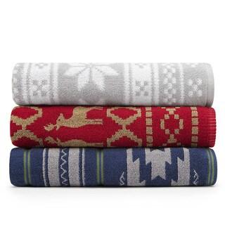 Eddie Bauer Holiday Jacquard Towel Sets