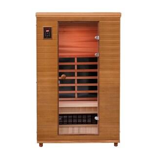 Health Mate Renew II Infrared 2-person Canadian Western Red Cedar Sauna