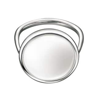 Calvin Klein Women's Loop Stainless Steel White Fashion Ring https://ak1.ostkcdn.com/images/products/12861603/P19623683.jpg?impolicy=medium