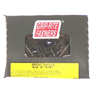 "Grip Rite PTN4S1 4"" Coarse Thread Exterior Screw w/ Bugle Head 1# Box"