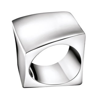 Calvin Klein Women's Stainless Steel Slant Fashion Ring (2 options available)