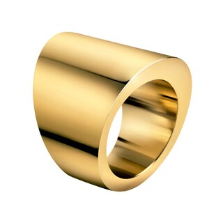 Calvin Klein Women's Yellow Goldplated Stainless Steel PVD-coated Fashion Ring (4 options available)