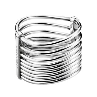 Calvin Klein Women's Form Stainless Steel Fashion Ring