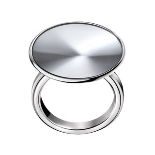Calvin Klein Illusory Stainless Steel Women's Fashion Ring