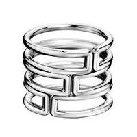 Calvin Klein Stainless Steel Women's Modern Fashion Ring