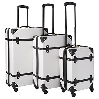 Diane Von Furstenberg Saluti 3-piece Hardside Spinner Luggage Set