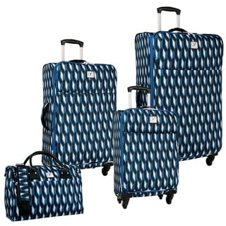 Diane Von Furstenberg Lilah 4-piece Expandable Spinner Luggage Set