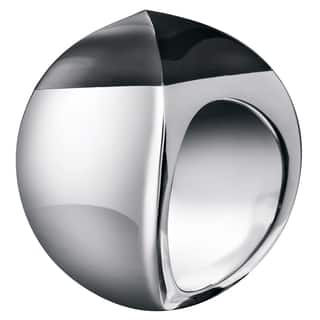Calvin Klein Women's Domed Black Stainless Steel Fashion Ring https://ak1.ostkcdn.com/images/products/12861983/P19624221.jpg?impolicy=medium