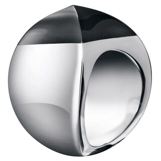 Calvin Klein Women's Domed Black Stainless Steel Fashion Ring (4 options available)