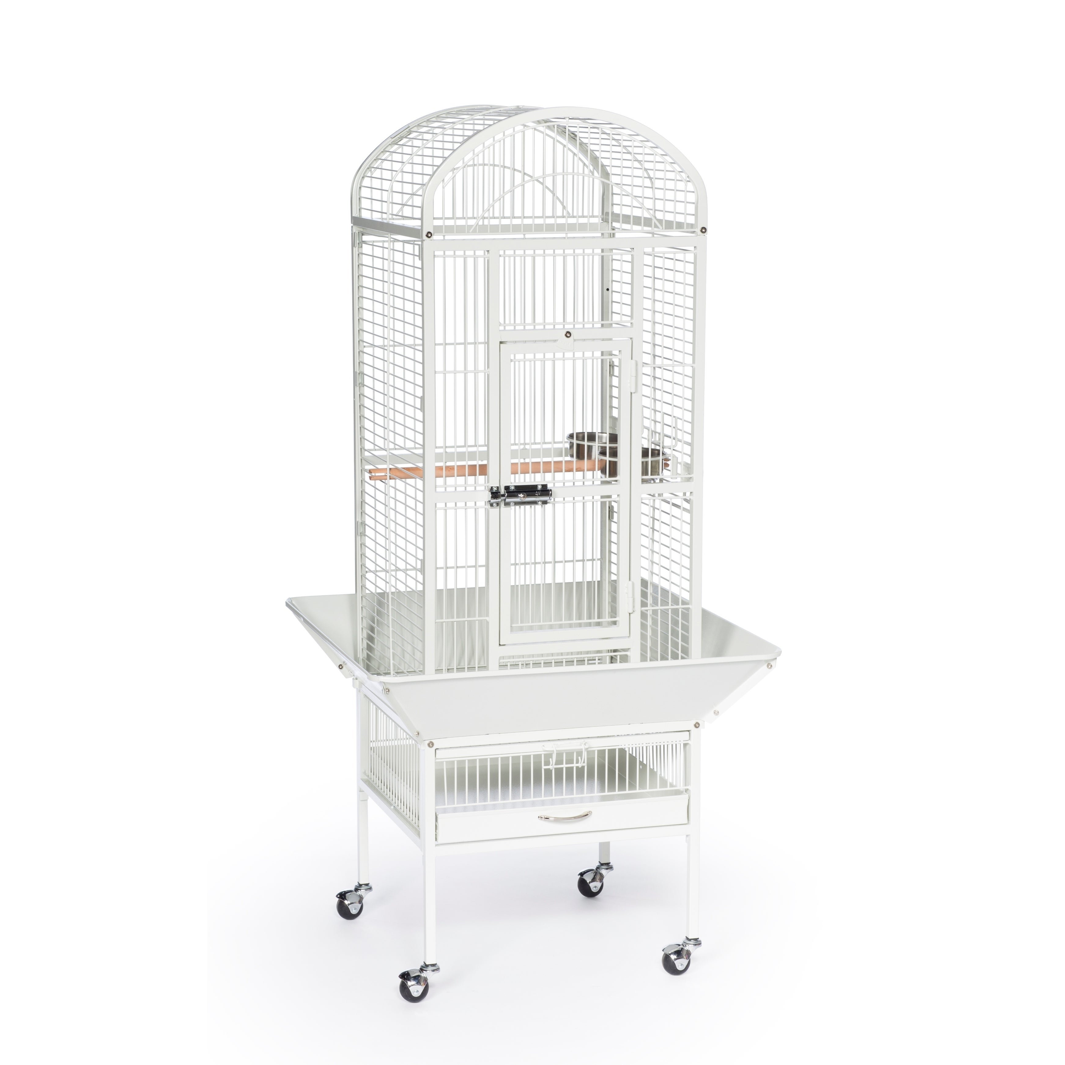 Prevue Pet Products Small Dometop Bird Cage (White), Beig...
