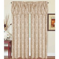 Penelope 84-inch Curtain with Valance (Set of 2)