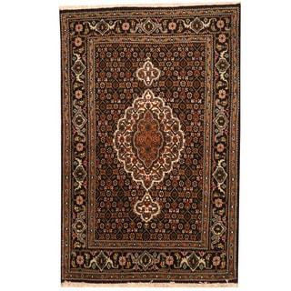 Herat Oriental Persian Hand-knotted Tribal Tabriz Wool Rug (2'6 x 4')