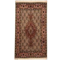 Herat Oriental Persian Hand-knotted Tribal Tabriz Wool Rug - 2'6 x 4'4