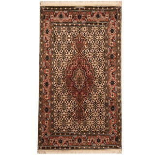 Handmade Herat Oriental Persian Tribal Tabriz Wool Rug (Iran) - 2'6 x 4'4